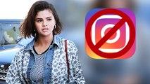 Here's Why Selena Gomez No Longer Has Instagram On Her Phone!