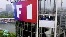 Camille Combal et Kev Adams lavent la Tour TF1 ! (Plan C) - ZAPPING PEOPLE DU 17/06/2019