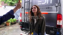 Kriti Kharbanda Spotted at Shooting for a Brand at Famous Studio | Must Watch