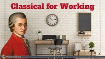 Various Artists - Classical Music for Working & Concentration - Mozart, Bach, Vivaldi...
