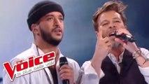 Christophe Maé et Slimane - Ça fait mal   The Voice France 2016   Finale