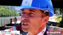 """Christophe Labbé, conducteur d'opération à AREA: """"Collecter les eaux sur des bassins antipollution"""" sur l'A480"""