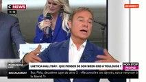 Fabien Lecœuvre dézingue la venue de Laeticia Hallyday à Toulouse