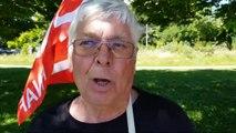 Syndicats dans la rue à Genève | Pierre Gasne,  CGT Jura