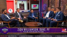 Zion Williamson Drafted Number One To The Pelicans