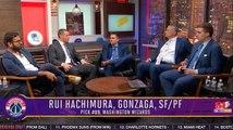 The Washington Wizards Select Rui Hachimura Ninth Overall