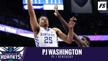 Hornets select PJ Washington in the 2019 NBA Draft