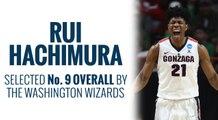 Wizards select Rui Hachimura 2019 NBA Draft