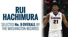 Wizards select Rui Hachimura 2019 NBA Draft