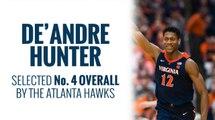 Hawks select De'Andre Hunter in 2019 NBA Draft