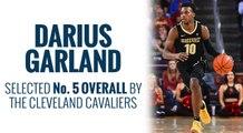 Cavs select Darius Garland in 2019 NBA Draft