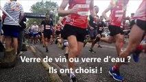 Marathon du vignoble 2019 : plutôt verre d'eau ou verre de vin pour arriver au bout de la course ?