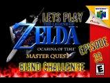 Lets Play - The Legend of Zelda - Ocarina of Time Master Quest Blind Challenge - Episode 39 - Spirit Temple - Adult Link Section Part 1