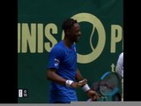 TENNIS: ATP: Halle - L'incroyable point de Gaël Monfils