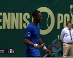 ATP: Halle - L'incroyable point de Gaël Monfils