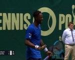 ATP: Halle - L'incroyable point de Gaël Monfils