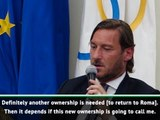 Leaving Roma worse than dying - Totti