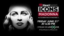 Madonna l iHeartRadio ICONS Live