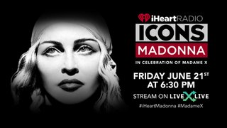 Madonna l iHeartRadio ICONS Live