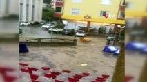 Bilecik'i sağanak yağmur ve dolu vurdu