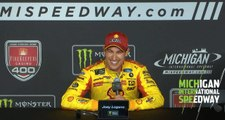 Logano: ' We had a good car and we kept it out front'