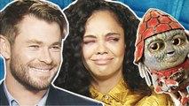 Chris Hemsworth et Tessa Thompson croient-ils aux aliens ? | Men in Black International