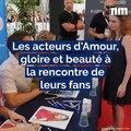 Les acteurs d'Amour, gloire et beauté à la rencontre de leurs fans