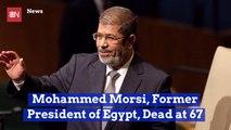 Egyptian President Mohammed Morsi Drops Dead in Court