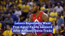 LA Wants To See Kawhi Leonard In A Lakers Jersey