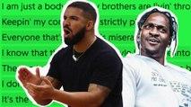"Is Drake Targeting Pusha T On ""Omertà?"""