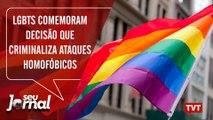 LGBTs comemoram decisão que transforma em crime ataques homofóbicos