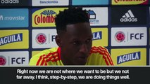 (Subtitled) 'Colombia not far away' - Yerry Mina