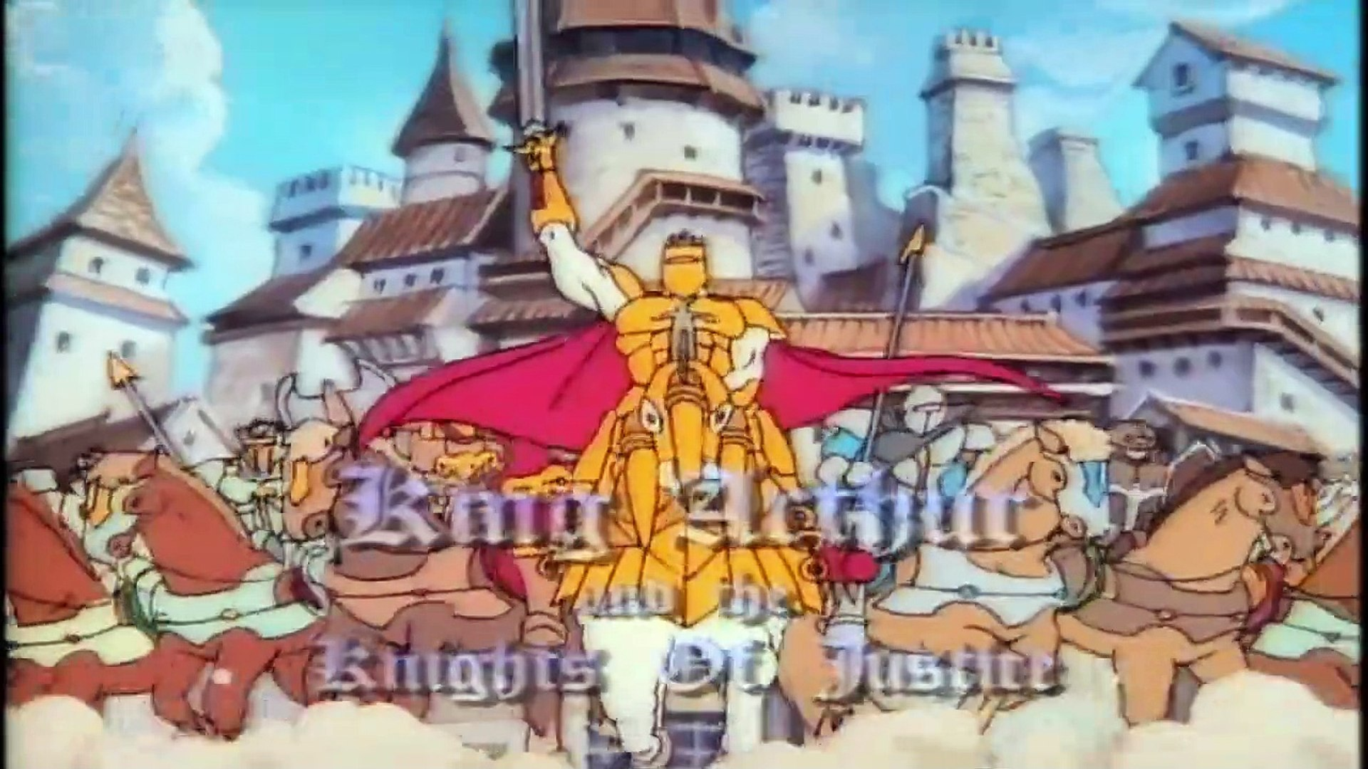 King Arthur and the Knights of Justice Intro HD / Opening / Theme (1992)