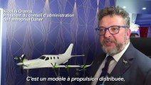 Un avion mi-thermique, mi-électrique présenté au Bourget