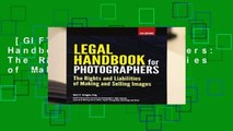 [GIFT IDEAS] Legal Handbook for Photographers: The Rights and Liabilities of Making and Selling