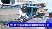 Pres. #Duterte, nagsalita na ukol sa maritime incident sa WPS