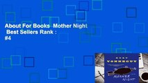 About For Books  Mother Night  Best Sellers Rank : #4