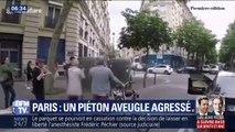 Après lui avoir grillé la priorité, un automobiliste agresse un piéton aveugle à Paris
