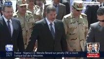 L'ancien président égyptien Mohamed Morsi a été enterré tôt ce matin au Caire