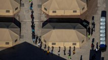 US border patrol overwhelmed as migrant camps overcrowded
