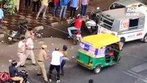 पुलिस की बर्बरता के खिलाफ सड़क पर उतरी जनता; मुखर्जी नगर थाने का घेराव, सीआरपीएफ तैनात