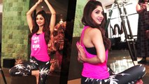 Shilpa Shetty Teaches Yoga To Media Photographers On International Day of Yoga