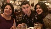 Priyanka Chopra & Nick Jonas celebrate Madhu Chopra's birthday; Check out   FilmiBeat