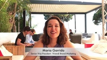 CANNES LIONS 2019 : Interview of Maria Garrido, SVP Vivendi Brand Marketing