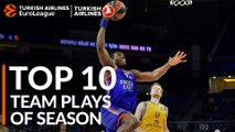2018-19 Turkish Airlines EuroLeague: Top 10 Team Plays!
