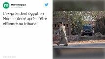 Égypte. Mort après une audition au tribunal, l'ancien président Morsi a été enterré au Caire