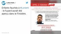 Enfants fauchés à Lorient. Le fuyard repéré dans le Finistère ?