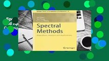 Spectral Methods: Algorithms, Analysis And Applications (Springer Series In Computational