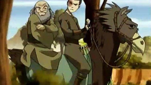 Avatar The Last Airbender S02E11 The Desert