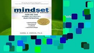 Full E-book  Mindset: The New Psychology of Success  Best Sellers Rank : #2